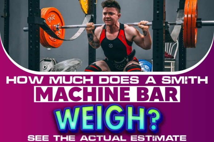 How Much Does A Smith Machine Bar Weigh..